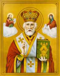 St. Nicholas, taken from Family in Feast and Feria blog.