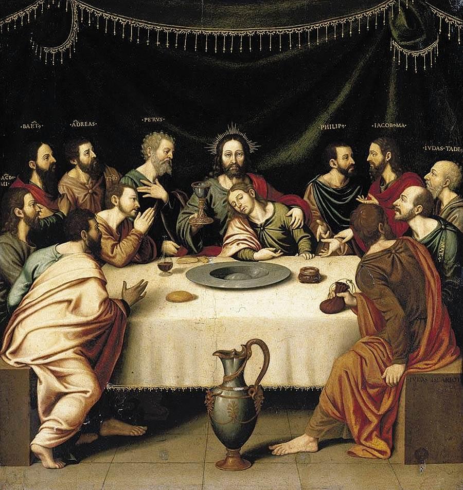 Giovedì Santo dans immagini sacre borras-last-supper