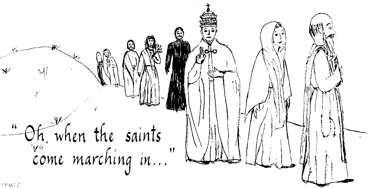 All Saints Day Coloring Pages http://familyfeastandferia.wordpress.com/2010/10/18/all-saints-day-link-up/